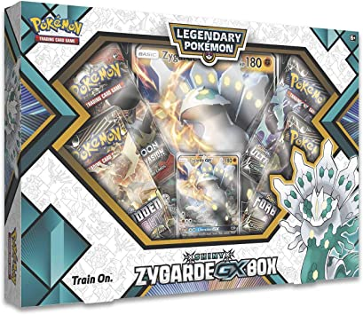 Pokemon TCG Shiny Zygarde GX Box: Amazon.es: Juguetes y juegos