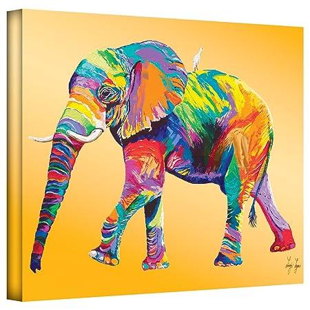 Art Wall Lynn-002-18×24-w Linzi Lynn The Ride Gallery-Wrapped Canvas Artwork, 18 by 24-Inch