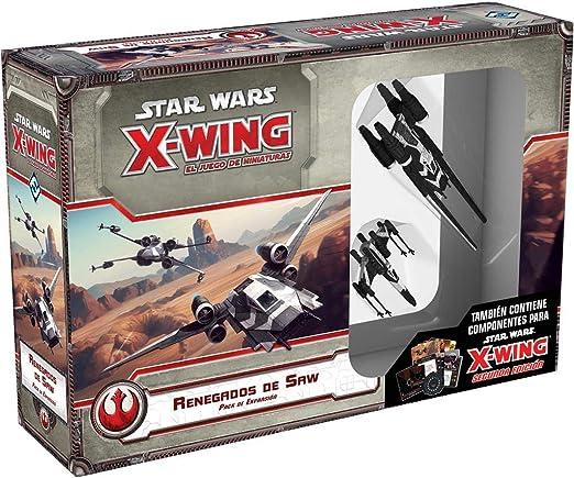 Fantasy Flight Games- Star Wars X-Wing: Renegados de Saw - Español (FFSWX74): Amazon.es: Juguetes y juegos