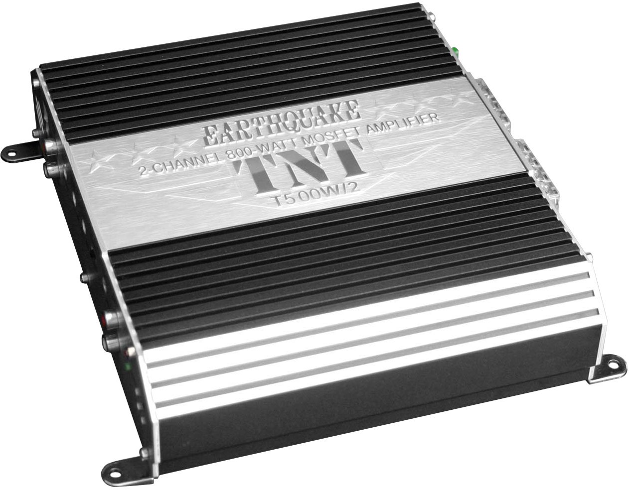 Earthquake Sound TNT Series T500W//2 2-Channel 800-Watt MOSFET Amplifier with Auto Sensing