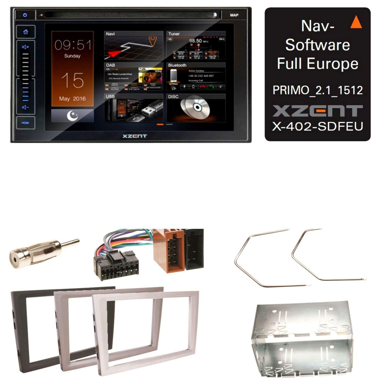 XZENT X de 402 Bluetooth Radio Digital Navegación CD USB MP3 Auto ...