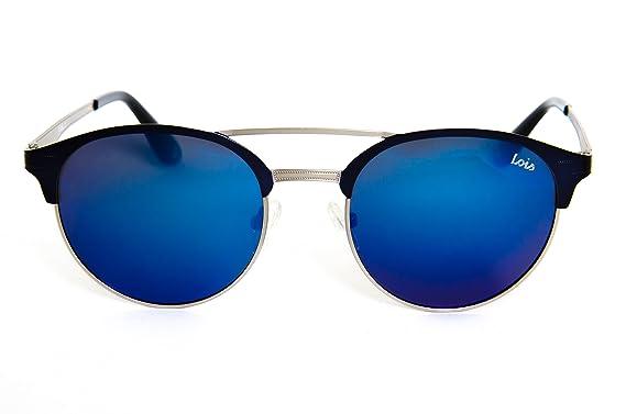 LOIS - Lois Mara BL Blue, Gafas de Sol Moda Unisex Metal ...