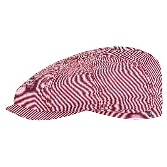 09f19a69 Stetson Hatteras Cotton Stripe Flat Cap flat cap flat cap (M/56-57 - pink):  Amazon.co.uk: Clothing