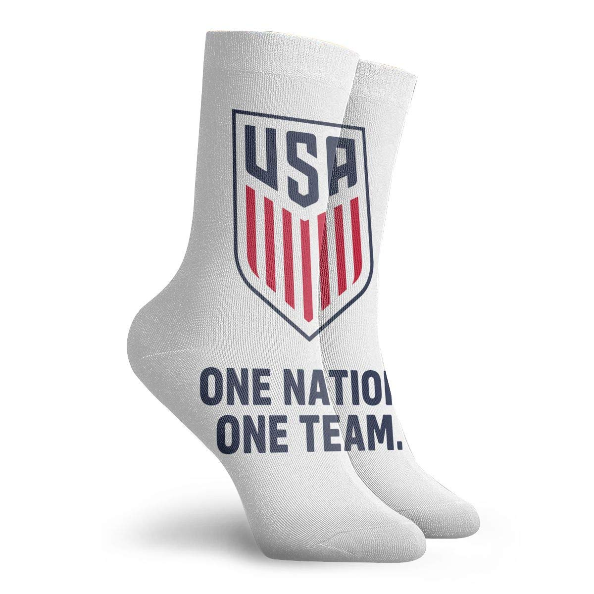 Athletic Quarter Ankle Print Breathable Hiking Running Socks Unisex 2016 Olympic Team USA Wrestling Logo 12