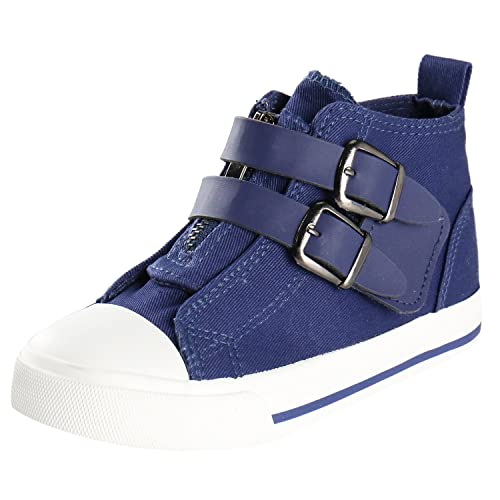 Kentti Sneaker a Collo Alto Stella, Scarpe da Ginnastica Alte Unisex-Bambini Nero 33 EU/1 UK