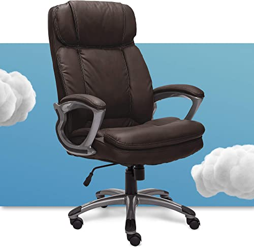 Serta Big Tall Executive Office Chair High Back All Day Comfort Ergonomic Lumbar Support