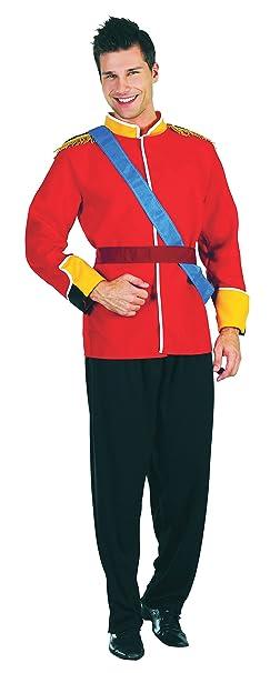Mens traje rojo de Royal Prince Charming libro Day Semana ...
