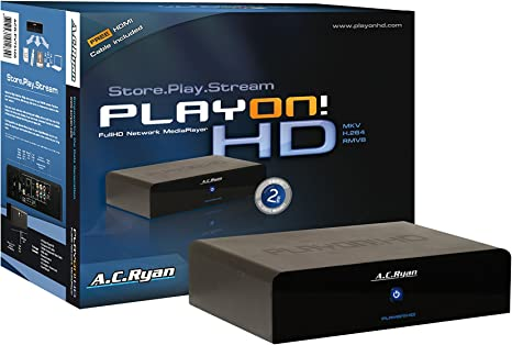 AC Ryan Playon!HD Full HD Network Media Player - Disco Duro Multimedia Full HD (USB 2.0, HDMI): Amazon.es: Informática