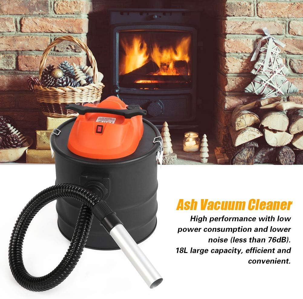 Zoternen - Aspirador de Cenizas eléctrico, 1000 W, 18 L, Aspirador de Cenizas para la Limpieza de chimeneas, Sistema de filtración HEPA, de Metal, Negro: Amazon.es: Hogar