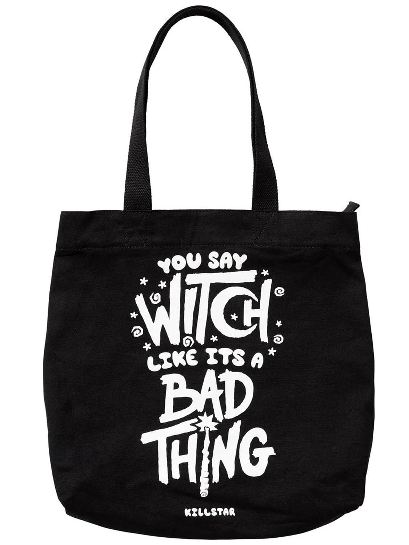 Killstar Einkaufsbeutel Who\'s Bad Tote Bag