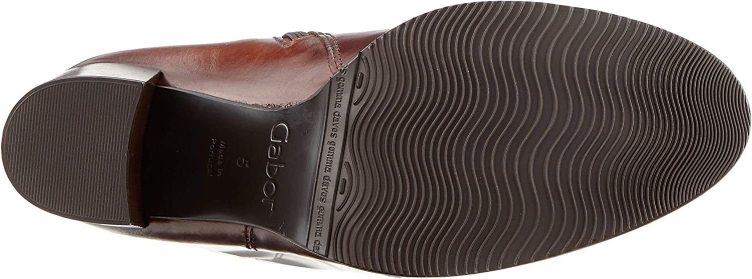 Gabor Shoes Gabor Basic, Bottes Hautes Femme Marron Sattel Effekt 22