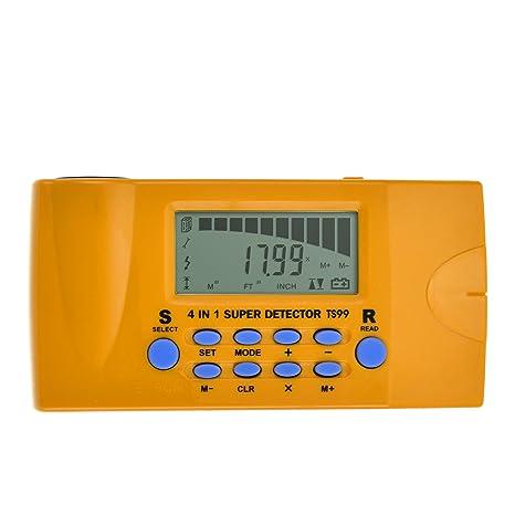 ALLOSUN 4 in 1 Ultrasonic Distance meter/Wood Stud Finder/Metal Detector/AC Wires Tracker - - Amazon.com