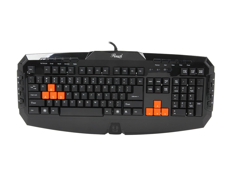 Rosewill RK-8100 USB Gaming Keyboard Windows 8 X64