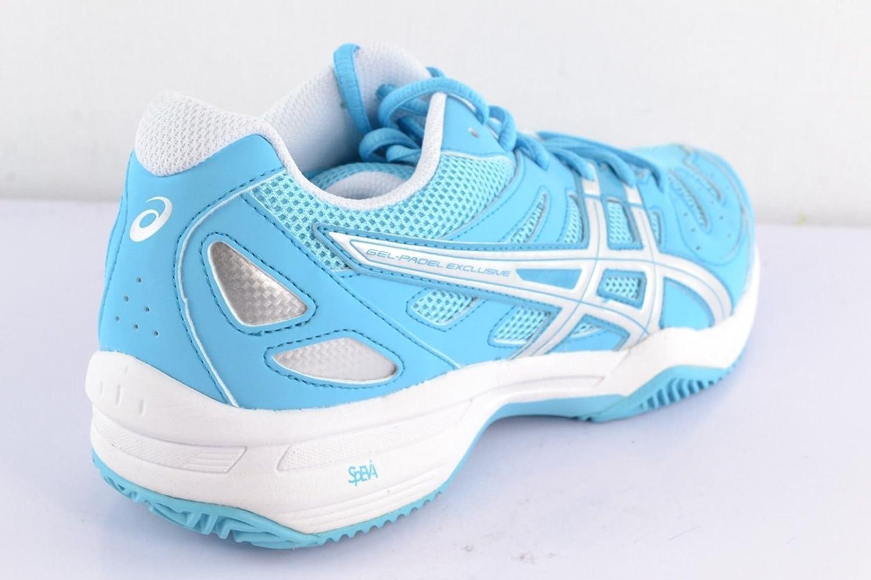 Asics - Zapatillas pádel gel pádel exclusive 3 sg womens, talla 41,5: Amazon.es: Zapatos y complementos