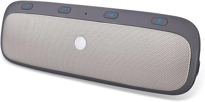 60% pas cher le dernier gros remise YOHOOLYO Kit Main Libre Bluetooth Fixation sur Pare-soleil Haut-Parleur  Enceinte Bluetooth Voiture pour V4.0 Appairage Avec 2 Téléphones  Simultanément ...