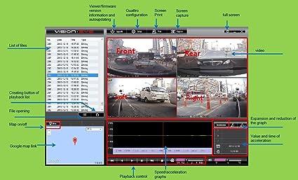 Vision Eye 4CH Mobile SD Card Car Vehicle Taxi Bus Semi DVR with WiFi & GPS