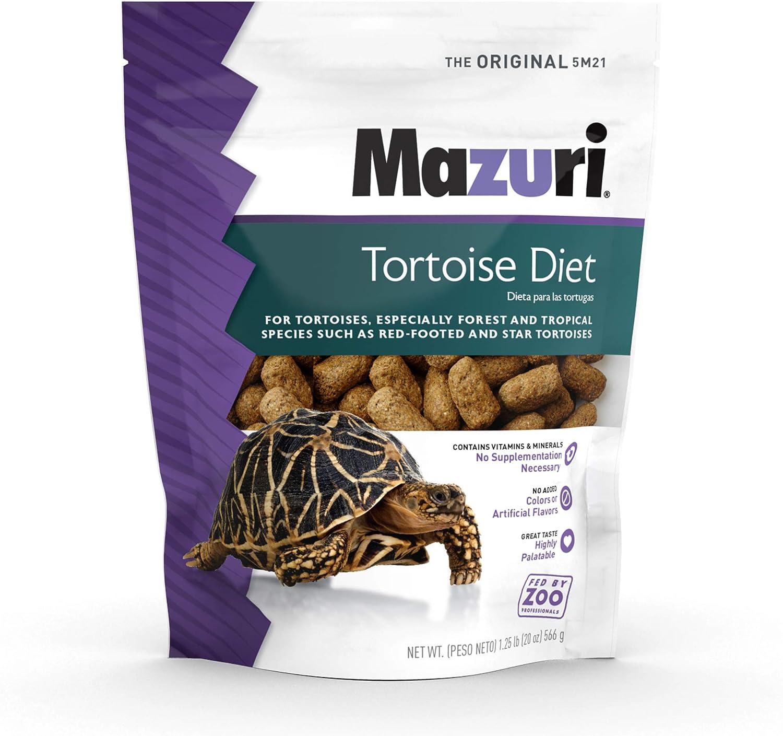 Mazuri | Tortoise Diet | 1.25 Pound (1.25 LB) Bag