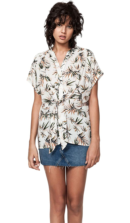 Deby Debo Palm Print Shirt Summer Collection Women