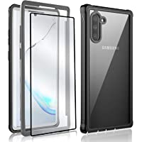 amosry Military Grade Case for Galaxy Note 10 with Free Screen Protector