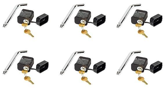 Husky 34819 0.5 x 2.125 Locking Receiver Pin