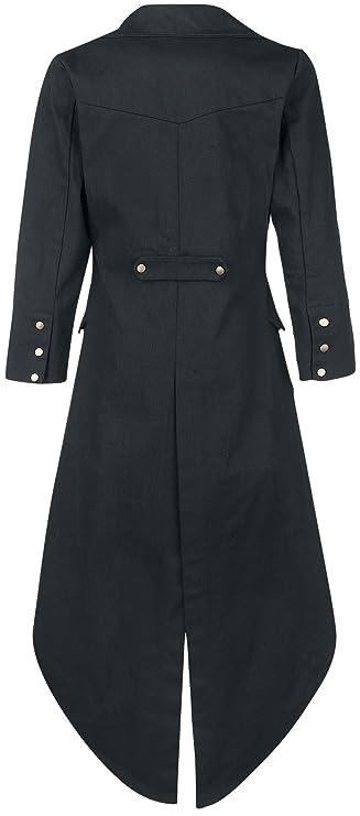 Dovetail Coat Abrigo Negro Banned nZwwM