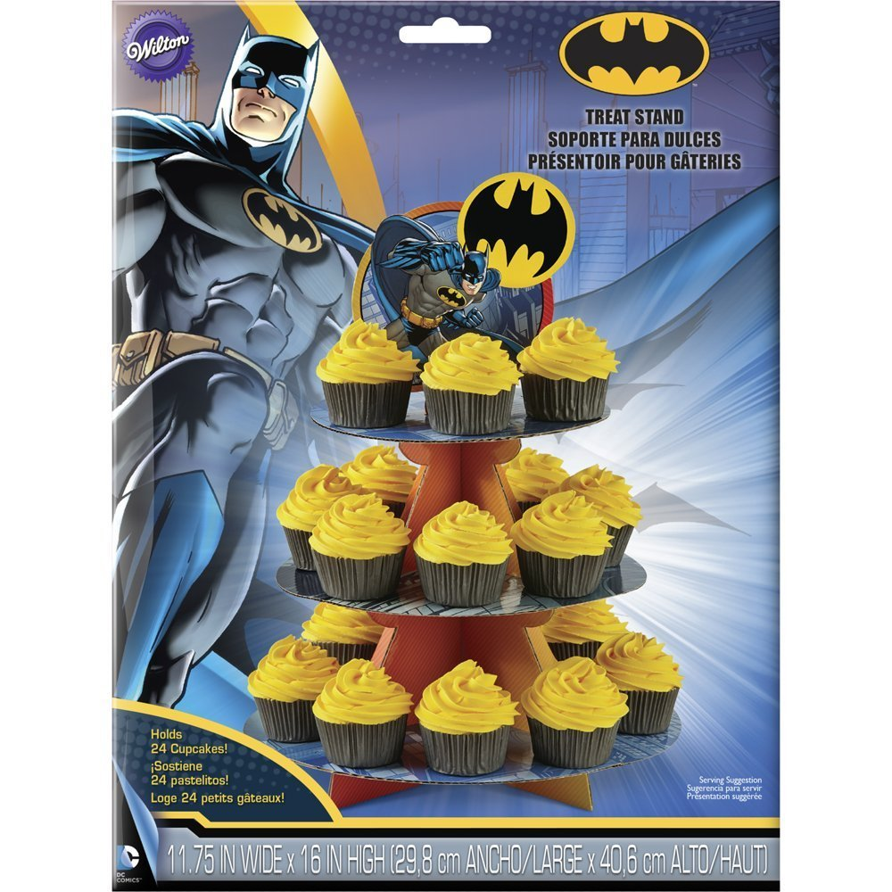 Batman Party 3 Tier Cake Stand