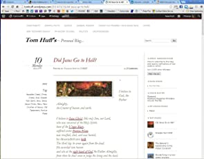 Tom Huff's Personal Blog