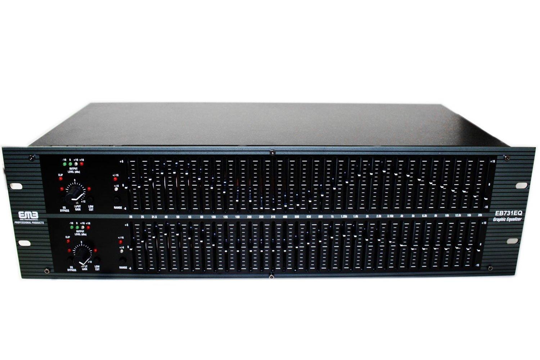 EMB Professional Sound System EB731EQ Graphic Equalizer/Limiter