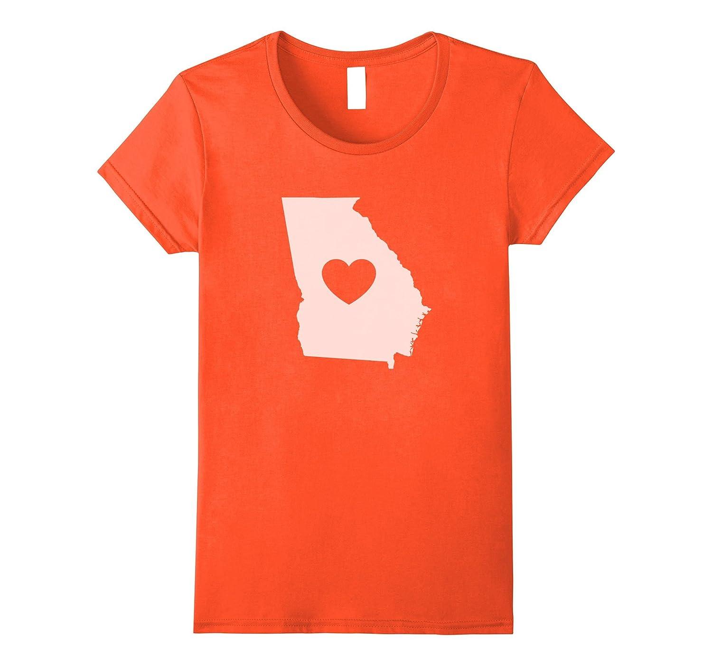 "The Official Georgia ""Love Heart"" T-Shirt"