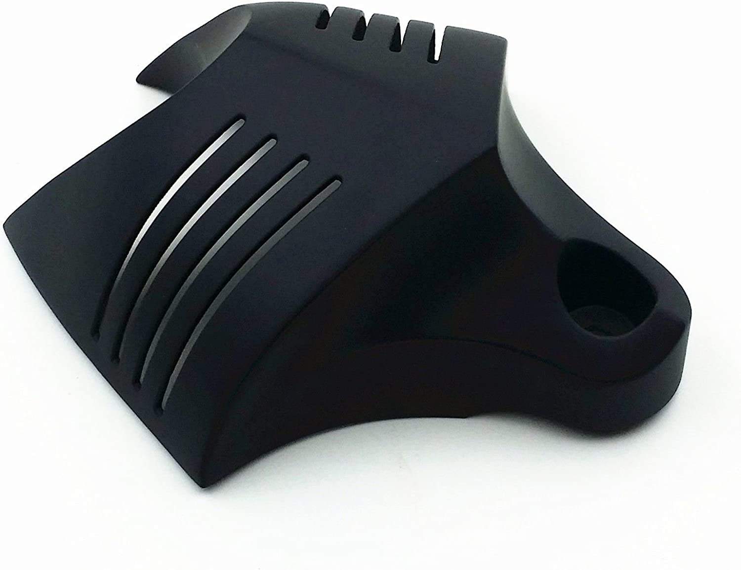 Black Motor HORN COVER For 1992-2012 Harley Softail Dyna Glide Big Twin Electra Road King