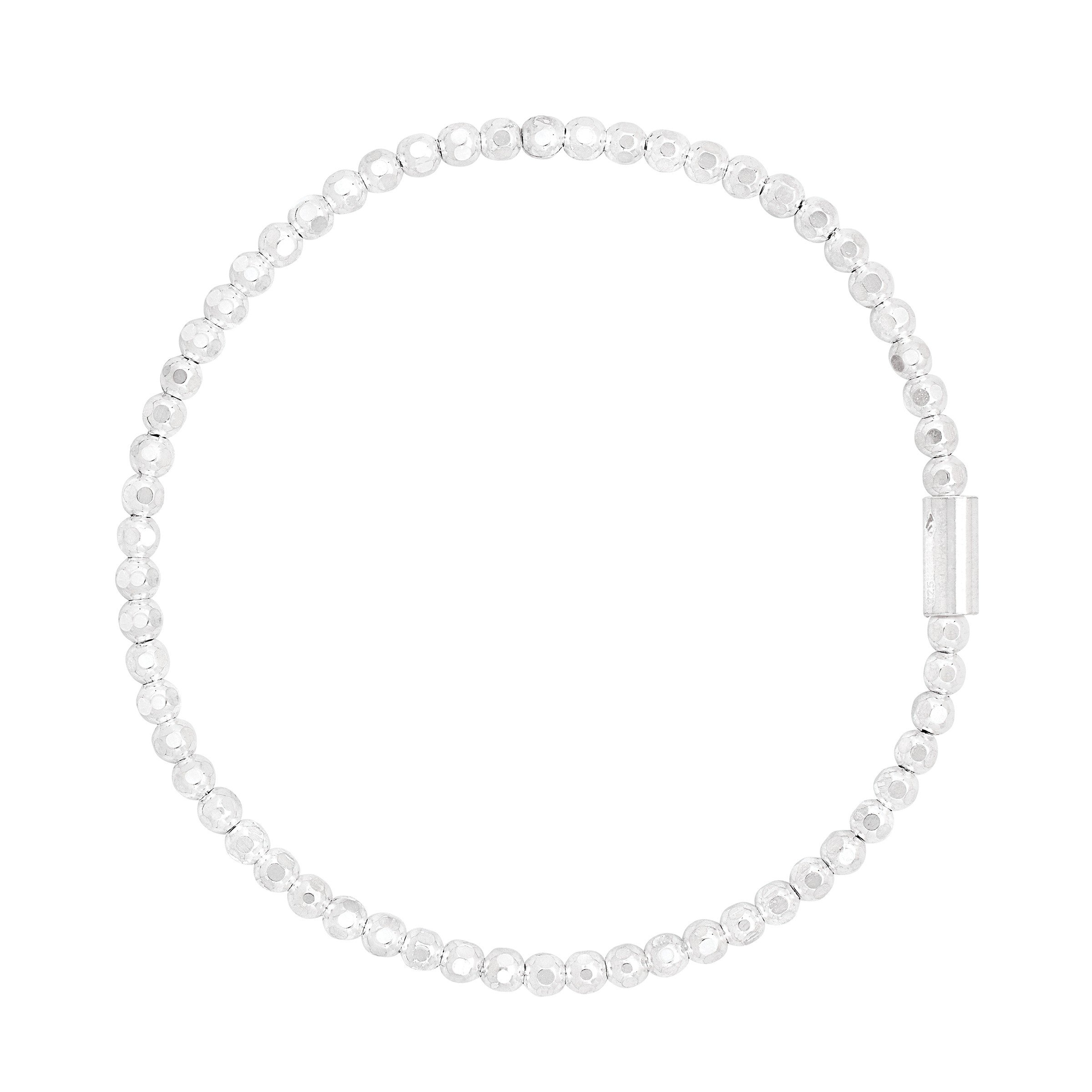 Silpada 'Charlotte' Sterling Silver Stretch Bracelet, 6.75''