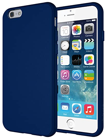 buy popular f0577 7428d Amazon.com: iPhone 6s Case, Diztronic Full Matte Soft Touch Slim-Fit ...