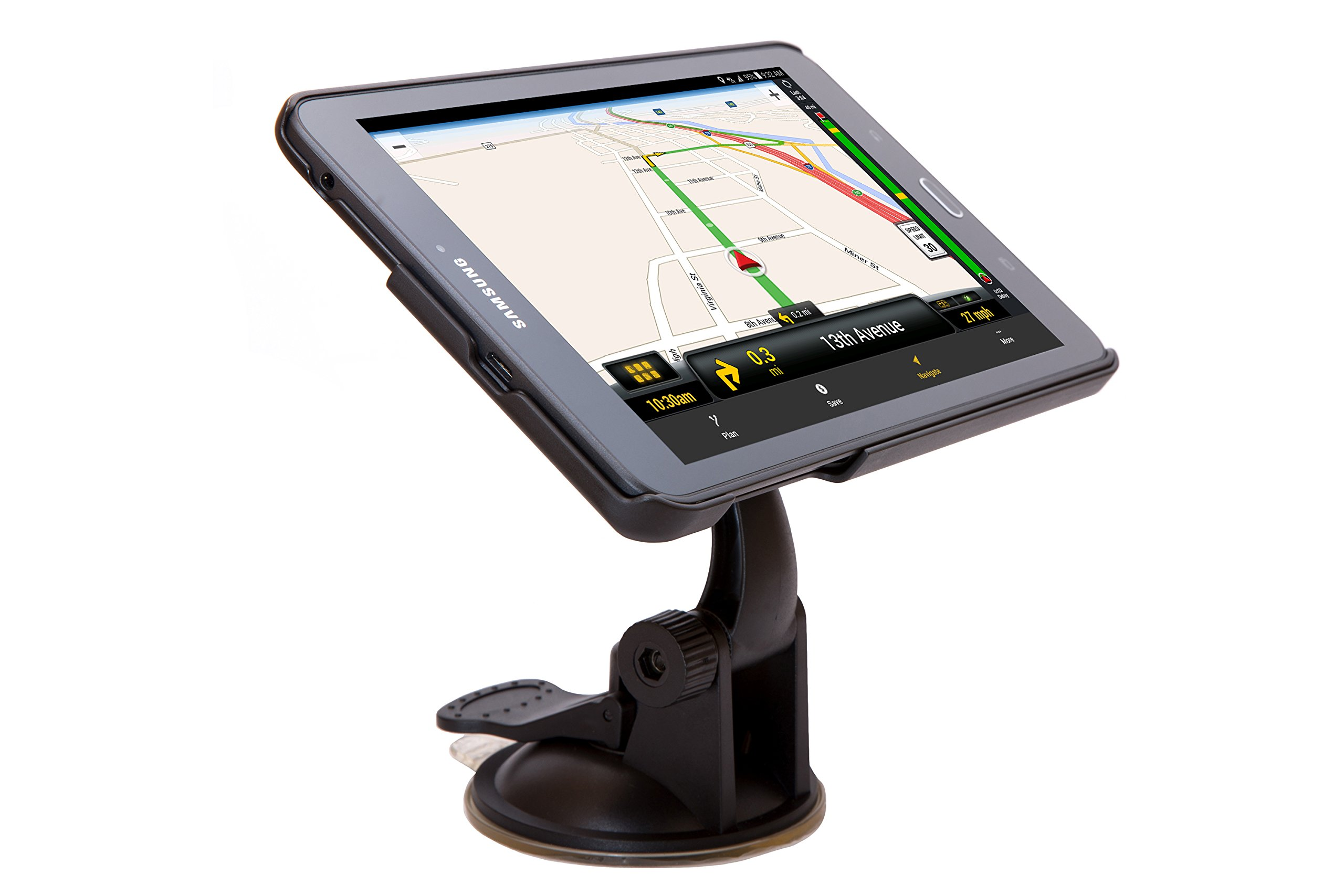 ONE20 Connected Driver Tablet with GPS Navigation for Commercial Truckers - 8 inch Samsung Tablet