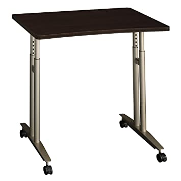 Merveilleux Amazon.com: Bush Business Furniture Series C 36W Adjustable Height Mobile  Table In Mocha Cherry: Kitchen U0026 Dining