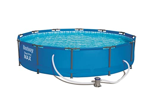 Piscina Desmontable Tubular Bestway Steel Pro 366x76 cm: Amazon.es ...