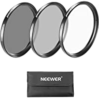 Neewer 40.5MM Lens Filter Kit: UV Filter + CPL Filter + ND4 Filter + Filter Pouch + Cleaning Cloth for Sony A6000, NEX Series Cameras with 16-50mm Lens and Samsung NX300 with 20-50mm Lens