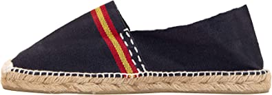Alpargata Azul Marino con Bandera española (43): Amazon.es: Zapatos y complementos