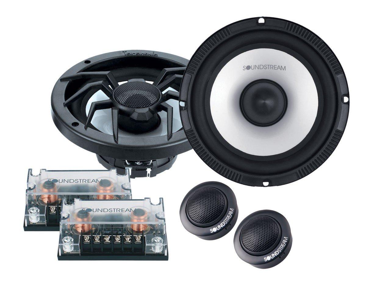 Soundstream SC-6T 6-1/2'' Arachnid Series Component Speaker System, Set of 2