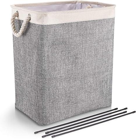 Simple Foldable Large Storage Laundry Hamper Clothes Basket Laundry Washing Bag