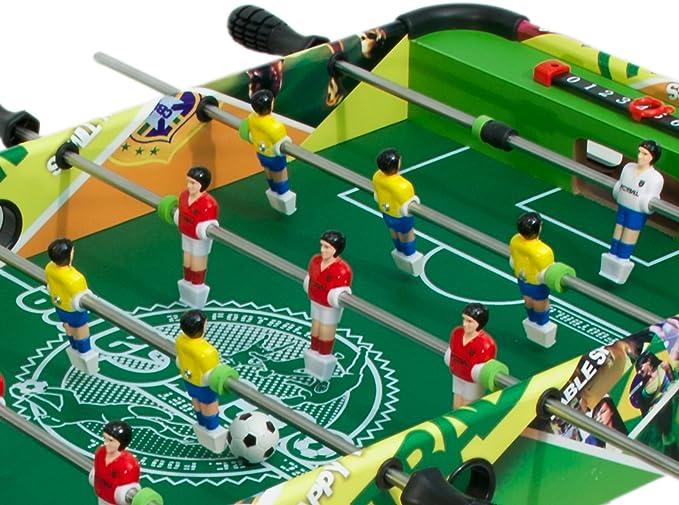 TEOREMA 63772 - Tabla de fútbol, de Madera, 80 x 42,5 cm, Altura ...