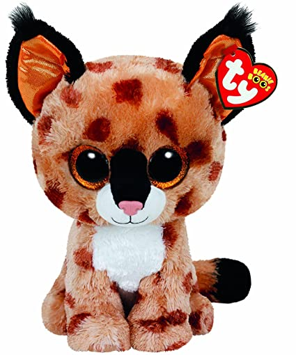 Amazon Com Ty Beanie Boos Buckwheat The Brown Linx Plush Toys Games