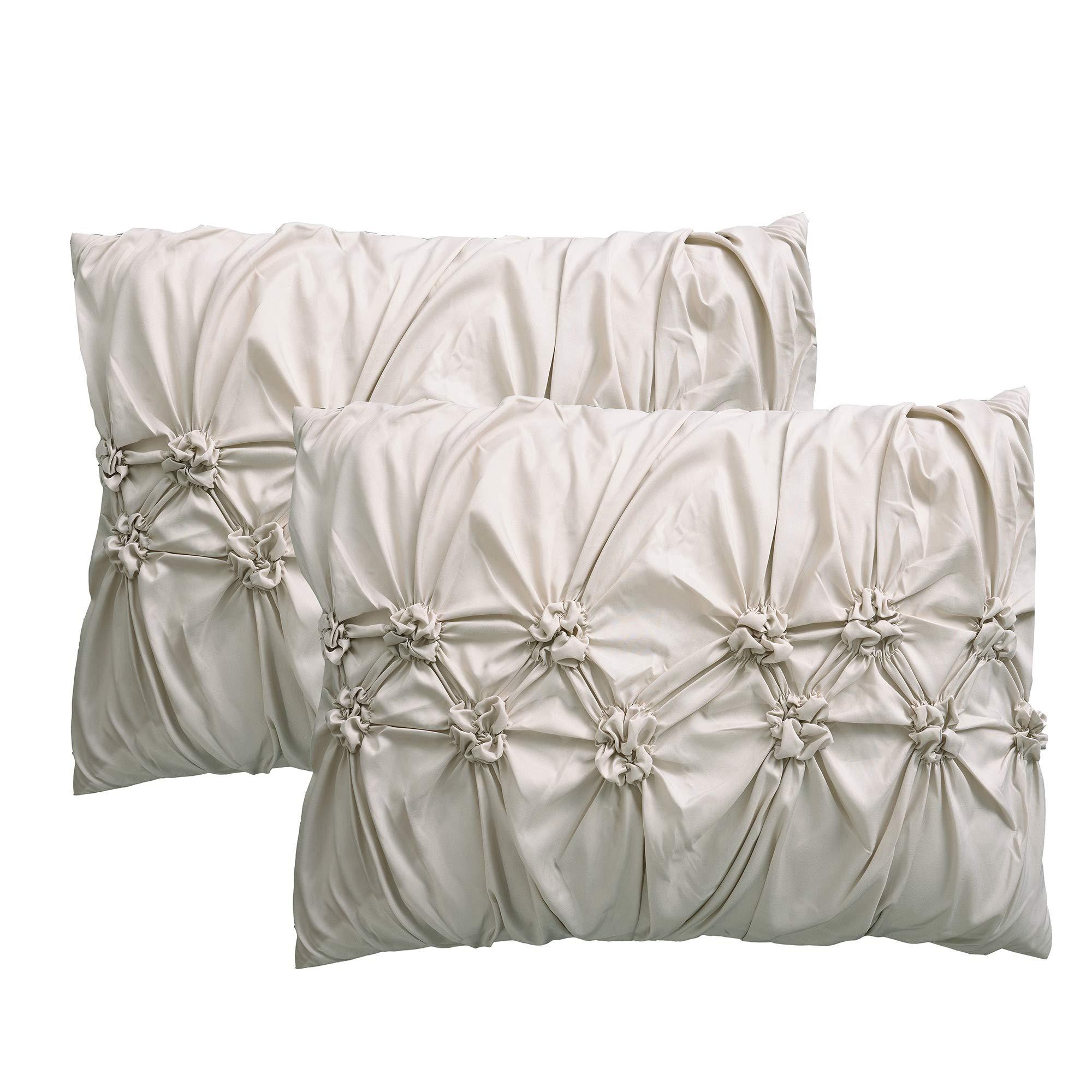 Amrapur Overseas 8-Piece Sophie Comforter Set, King/California King, Sand by Amrapur Overseas (Image #5)