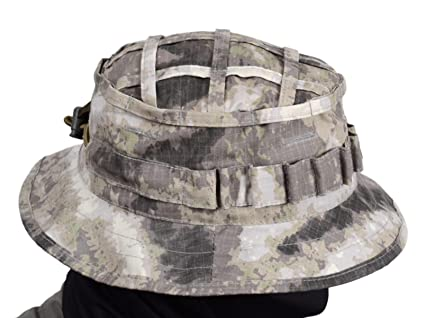 760743bc376 Amazon.com   ODINN Boonie Hat Panama Original Russian Army (A-TACS ...