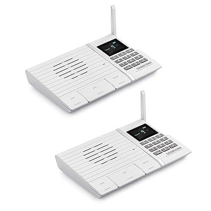 Wireless Intercom System, SAMCOM FTAN20A 20 Channels 3 Code Security on