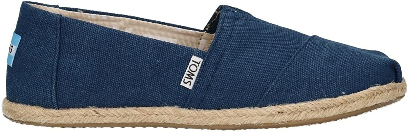 TOMS Classic Navy Washed Womens Canvas