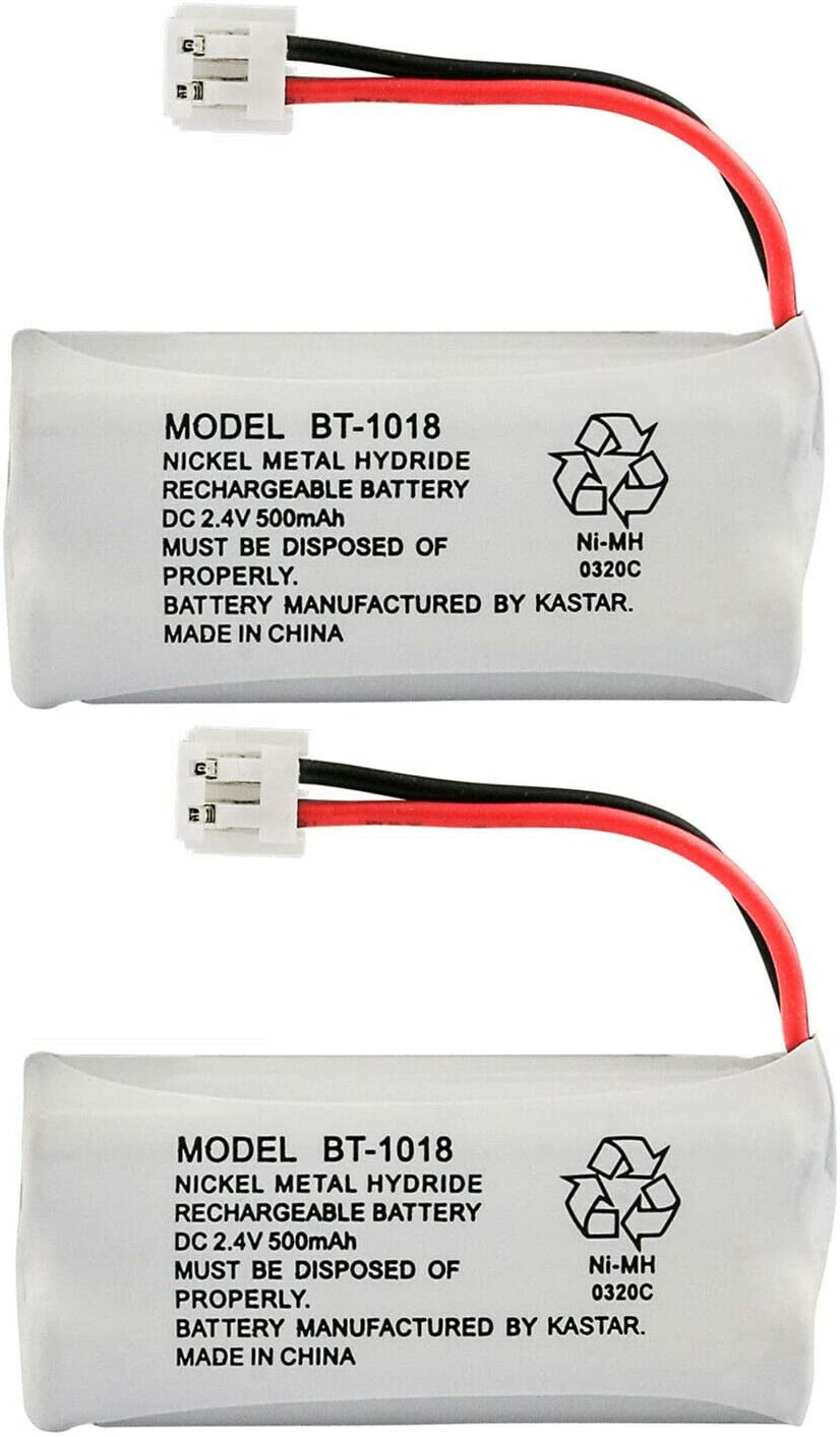 Kastar 2-Pack Battery Replacement for GE 28127FE2 28203 2-8203 28213 2-8213 28213EE1 28213EE2 28223 2-8223 28223EE2 28801 2-8801 28802 2-8802 28802FE1 28811 2-8811 28811FE2 28821 2-8821 28821FE2