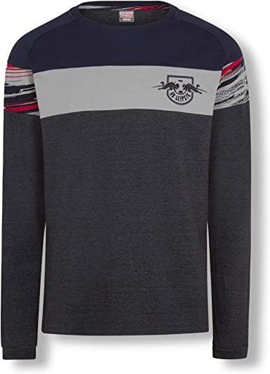 RB Leipzig Blizzard Long Sleeve Camisa Polo, Azul Hombre Camiseta Manga Corta, RasenBallsport Leipzig Sponsored by Red Bull Original Ropa & Accesorios