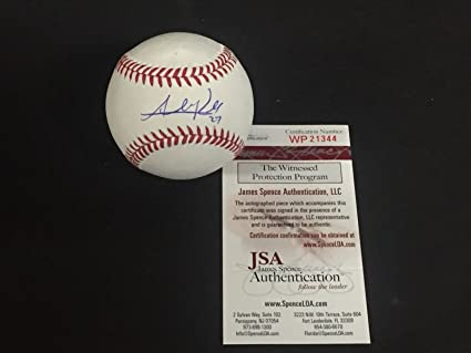 4c391f4e5 Addison Russell Chicago Cubs Autographed Signed Baseball JSA WITNESS ...