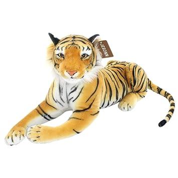 Amazon Com Jesonn Realistic Giant Stuffed Animals Tiger Plush Toys