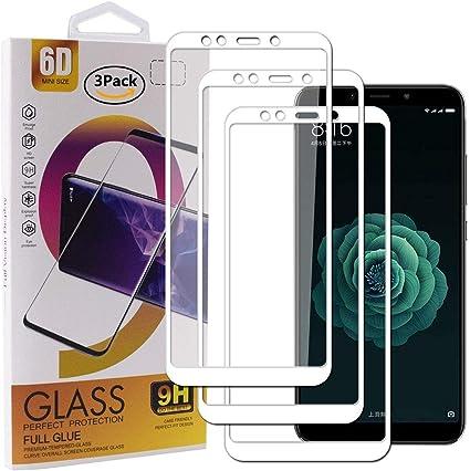 Guran [3 Paquete Protector de Pantalla para Xiaomi Mi A2 ...